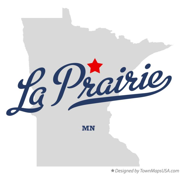 Map of La Prairie Minnesota MN