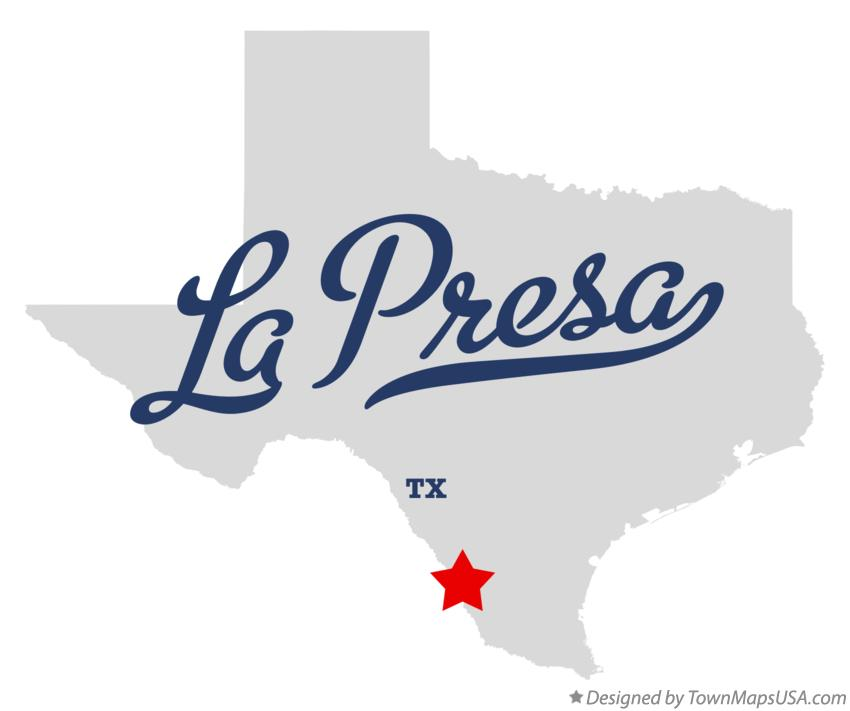 Map of La Presa Texas TX