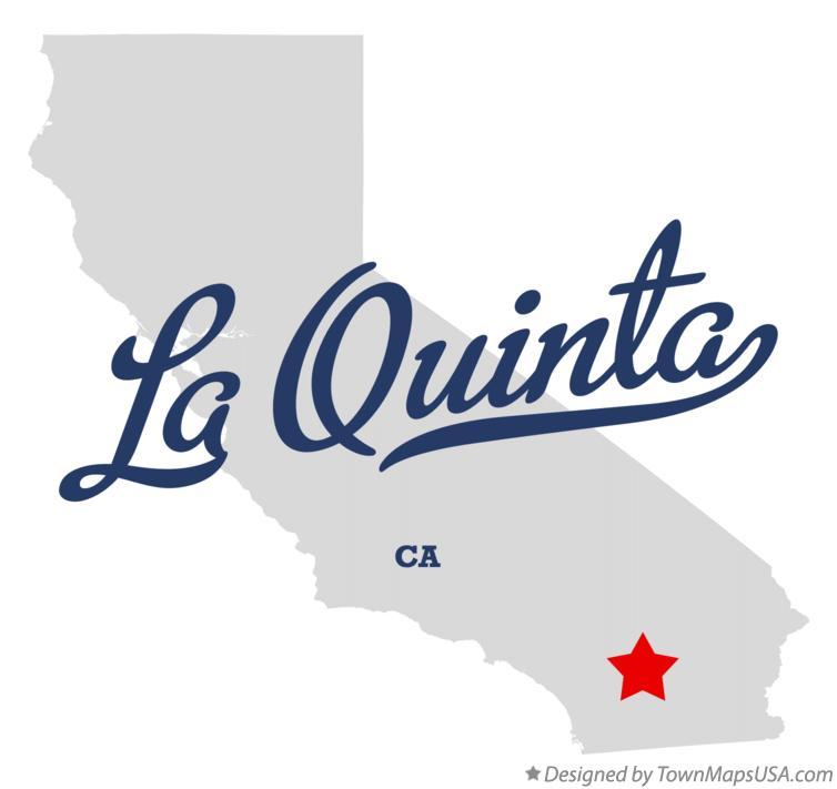 Map Of La Quinta Ca California