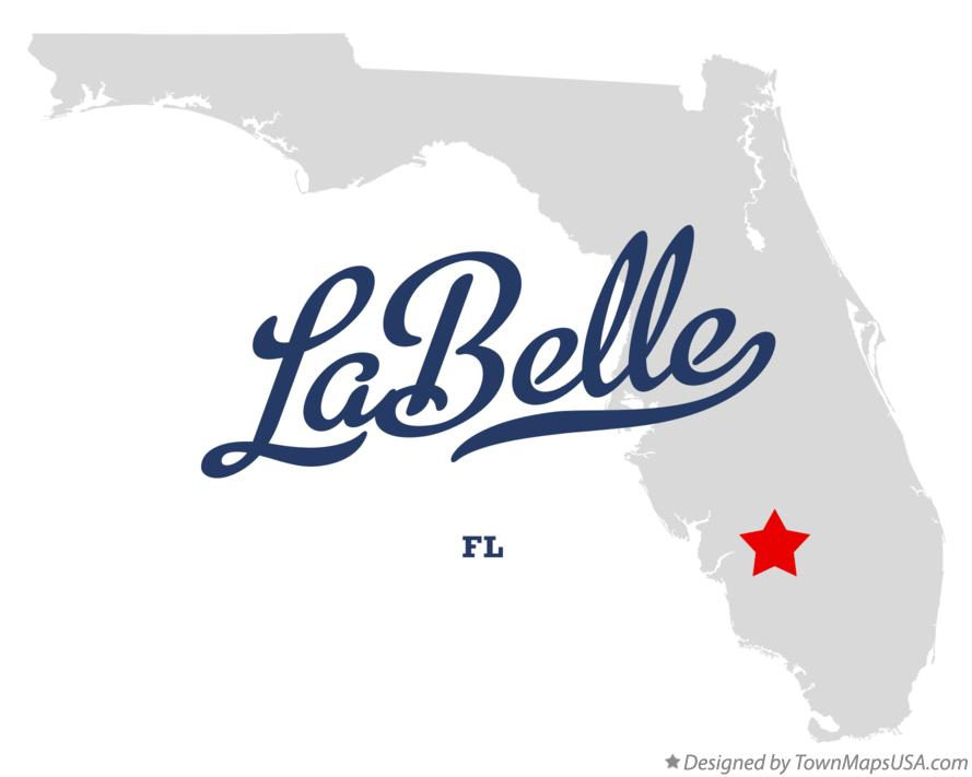 Where Is Labelle Florida In The Map.Map Of Labelle Fl Florida