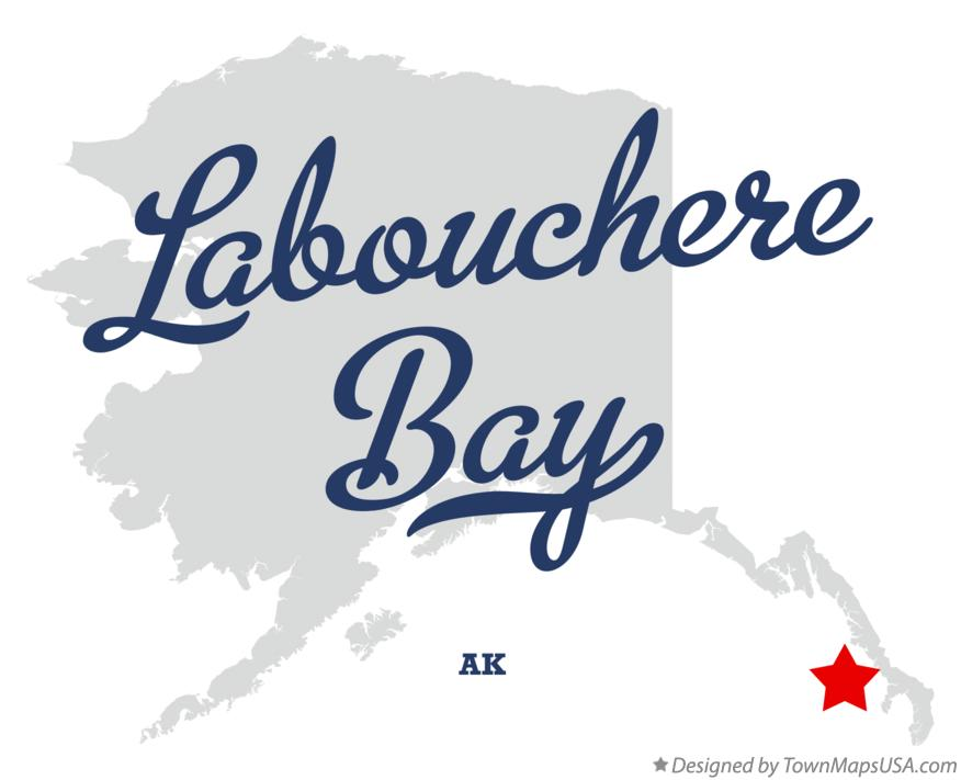 Map of Labouchere Bay Alaska AK