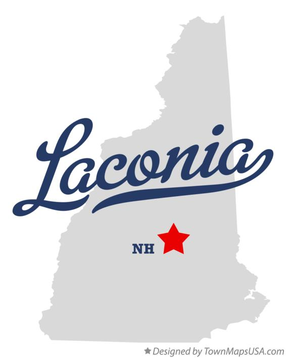 laconia new hampshire map Map Of Laconia Nh New Hampshire laconia new hampshire map