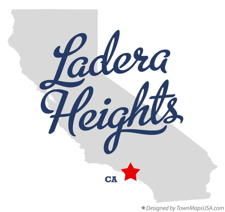 Map of Ladera Heights California CA