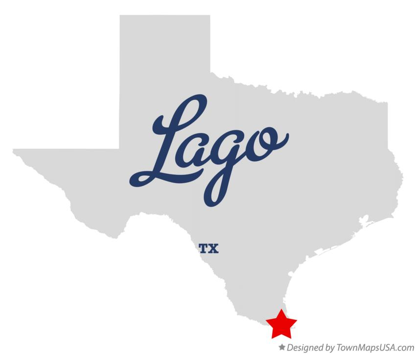 Map of Lago Texas TX