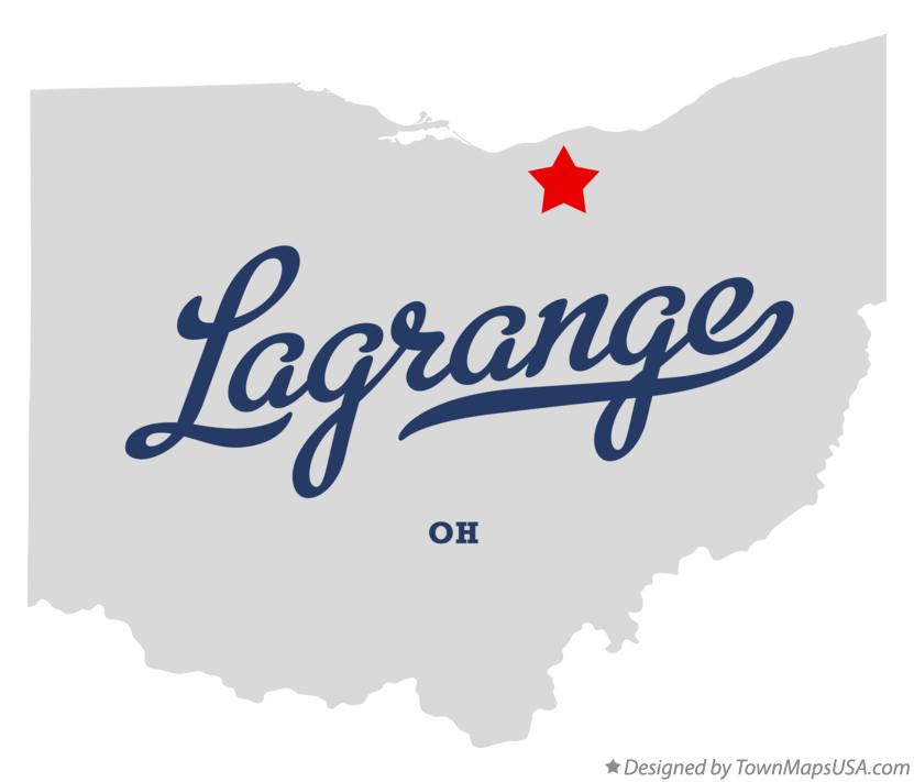 Lagrange Ohio Map.Map Of Lagrange Oh Ohio