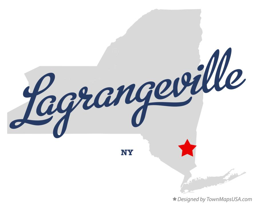Map of Lagrangeville New York NY