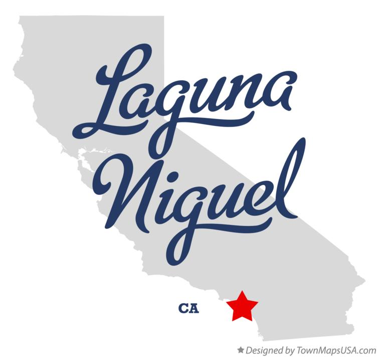 Map of Laguna Niguel California CA