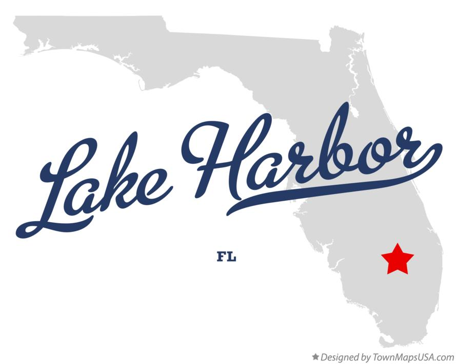 Map of Lake Harbor Florida FL