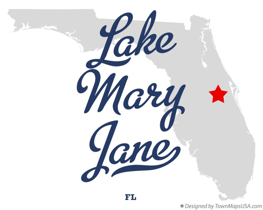 lake mary jane florida map