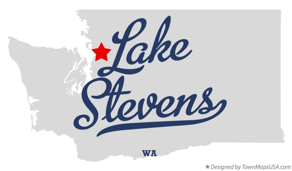 Lake Stevens Washington Map.Map Of Lake Stevens Wa Washington