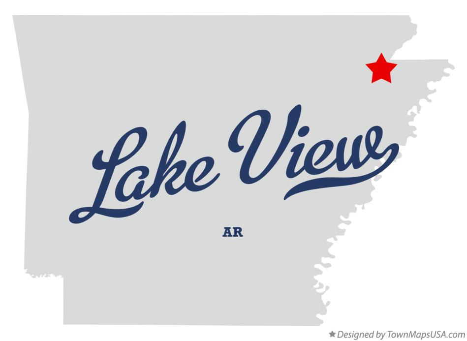 Map of Lake View Arkansas AR