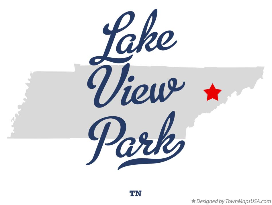 Map of Lake View Park Tennessee TN