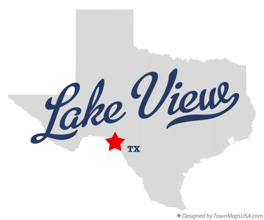 Map of Lake View Texas TX
