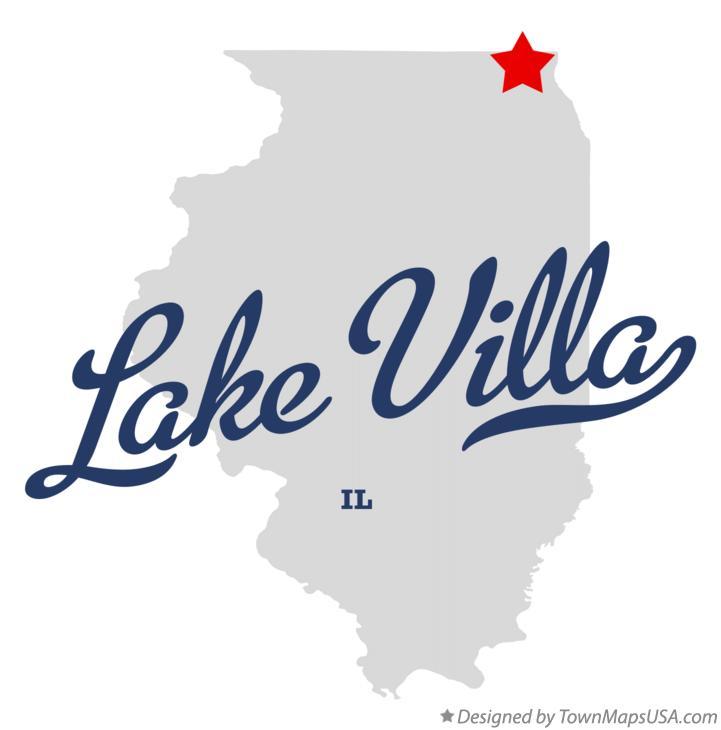map of lake villa il Map Of Lake Villa Il Illinois map of lake villa il