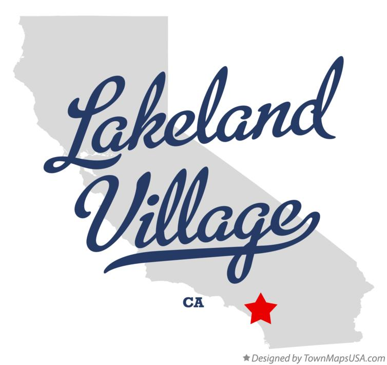 Map of Lakeland Village California CA