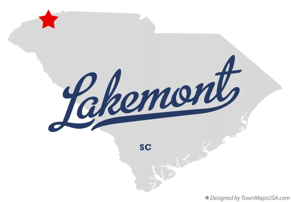 Map of Lakemont South Carolina SC