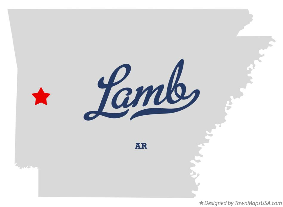 Map of Lamb Arkansas AR
