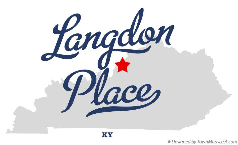 Map of Langdon Place Kentucky KY