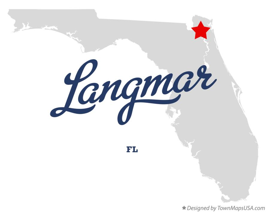 Map of Langmar Florida FL