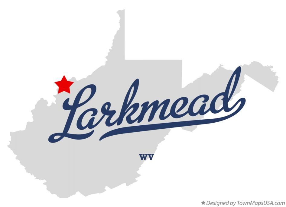 Map of Larkmead West Virginia WV