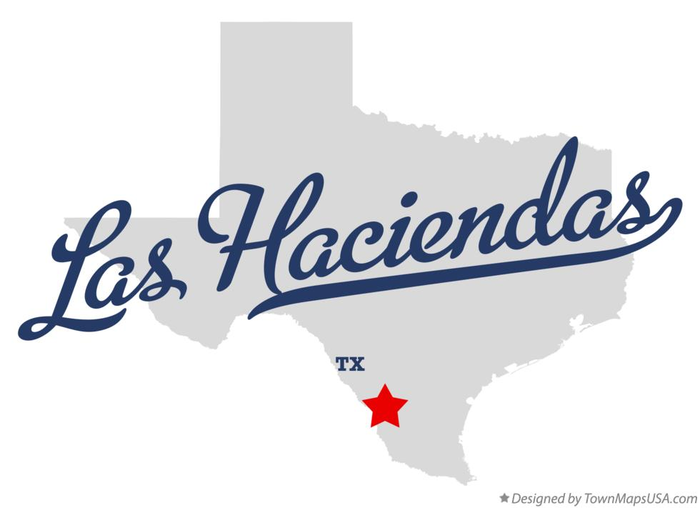 Map of Las Haciendas Texas TX