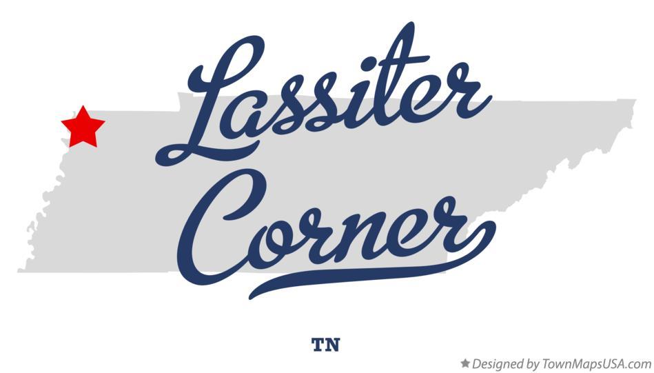 Map of Lassiter Corner Tennessee TN
