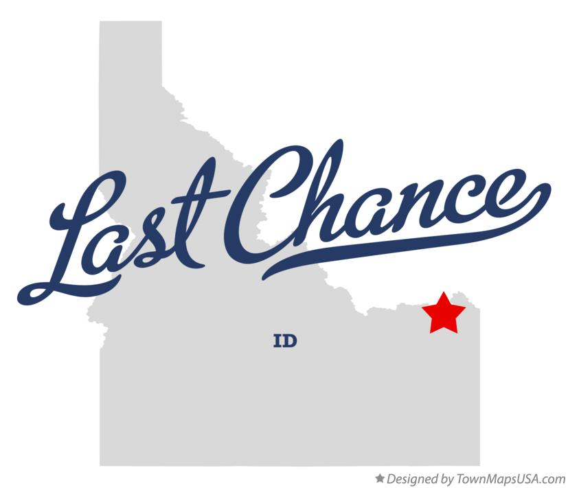 Map of Last Chance Idaho ID