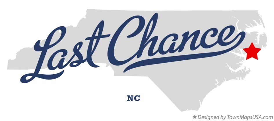 Map of Last Chance North Carolina NC
