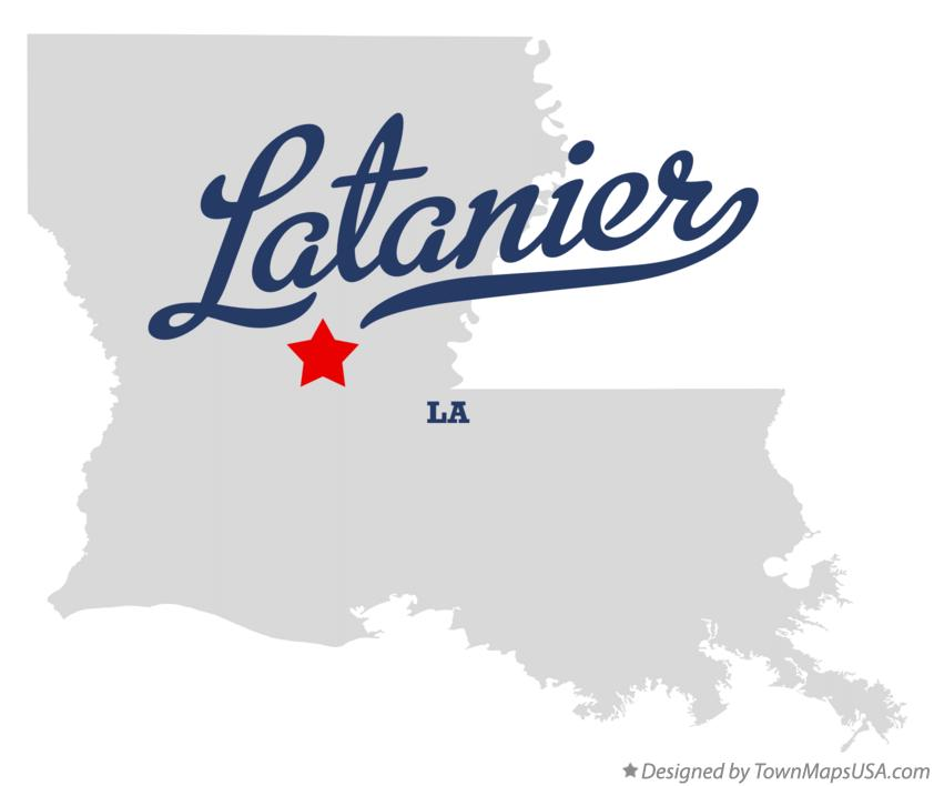 Map of Latanier Louisiana LA