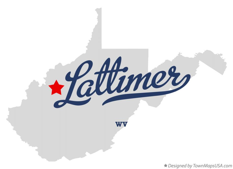 Map of Lattimer West Virginia WV