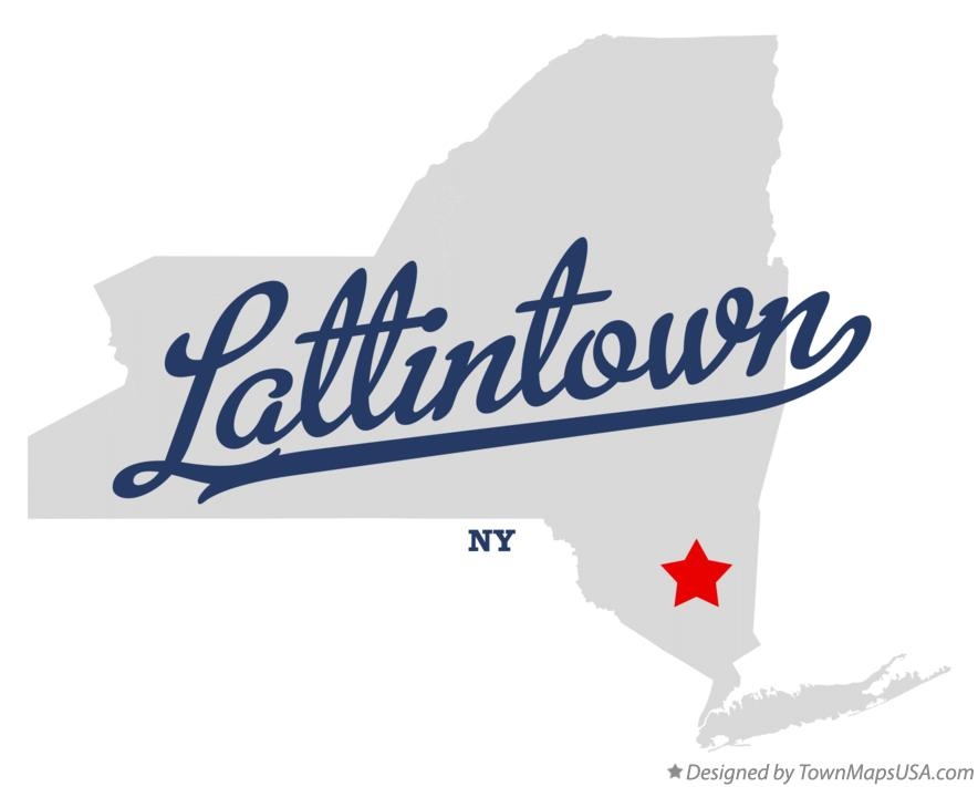 Map of Lattintown New York NY