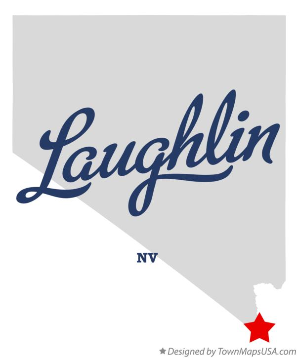 Map of Laughlin Nevada NV