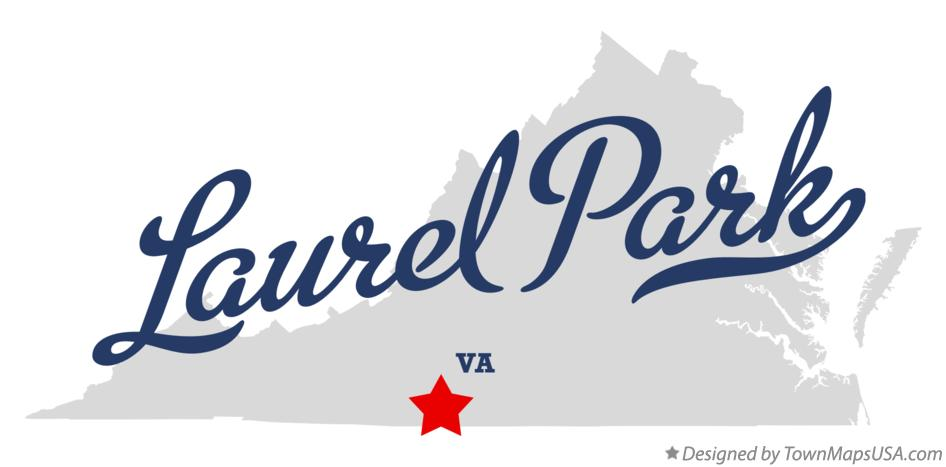 Map of Laurel Park Virginia VA