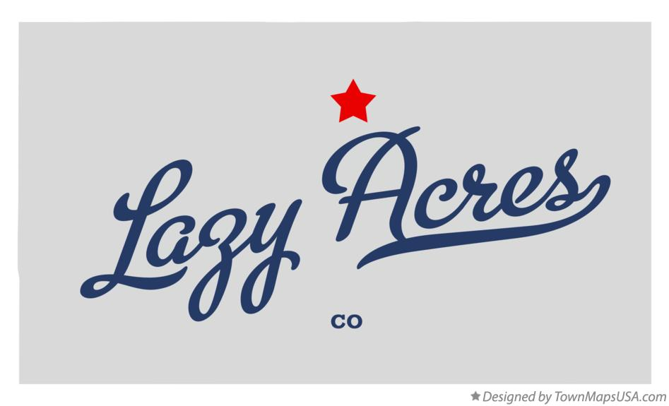 Map of Lazy Acres Colorado CO