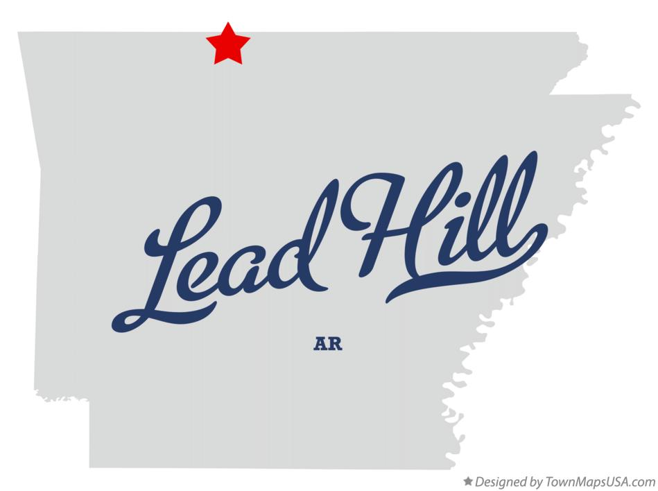 Map of Lead Hill Arkansas AR