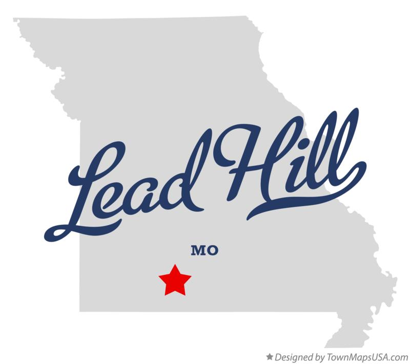 Map of Lead Hill Missouri MO