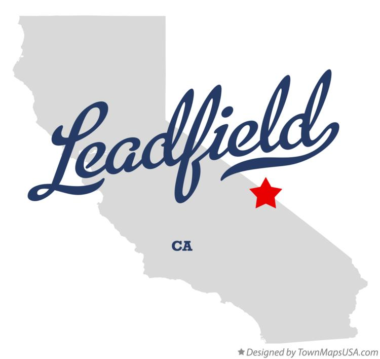 Map of Leadfield California CA