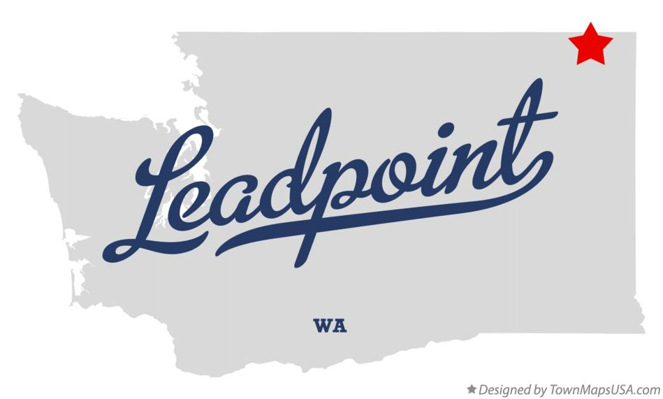 Map of Leadpoint Washington WA
