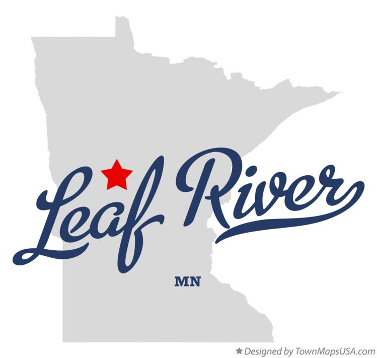 Map of Leaf River Minnesota MN