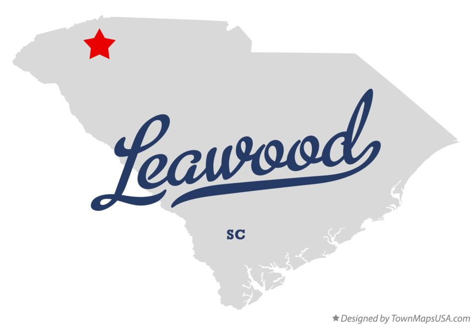 Map of Leawood South Carolina SC