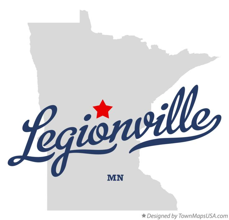 Map of Legionville Minnesota MN