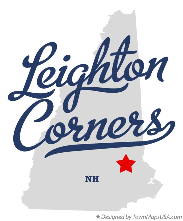 Map of Leighton Corners New Hampshire NH