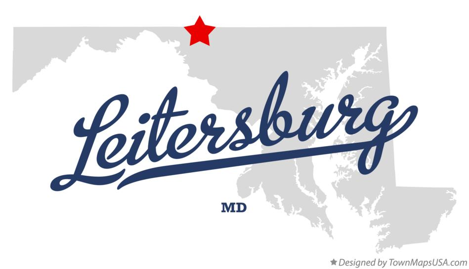 Map of Leitersburg Maryland MD