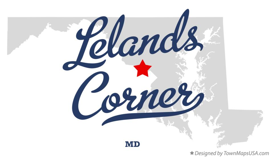 Map of Lelands Corner Maryland MD