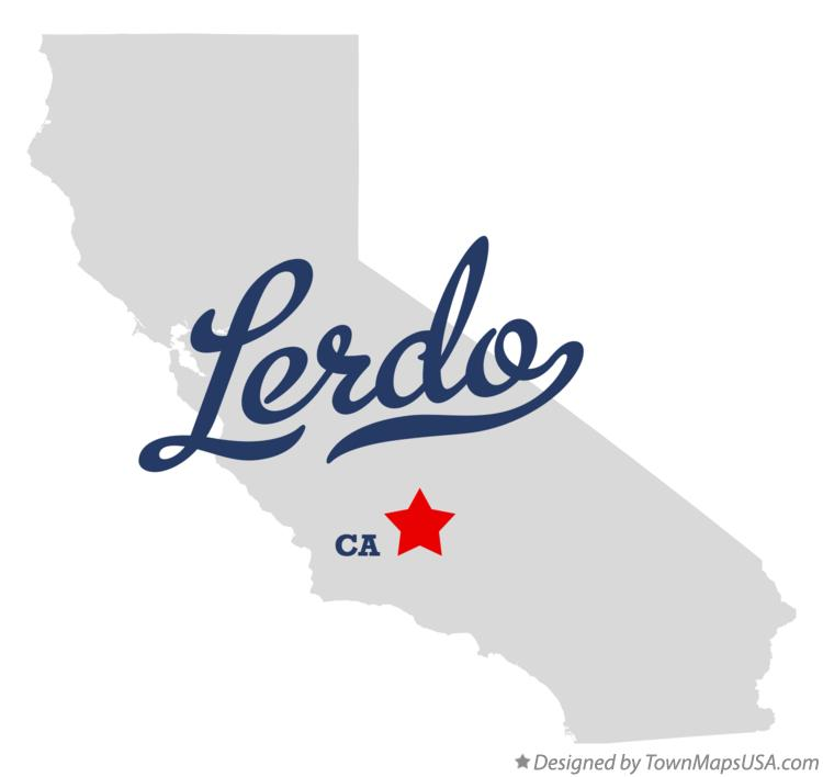 Map of Lerdo California CA