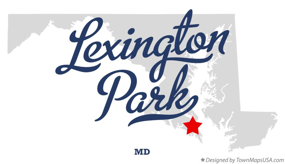 Map of Lexington Park Maryland MD