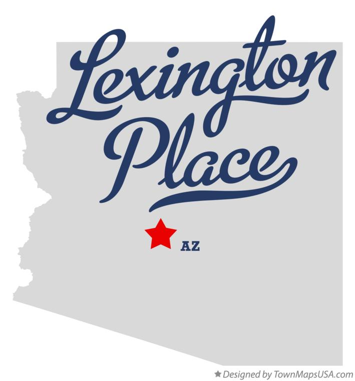 Map of Lexington Place Arizona AZ