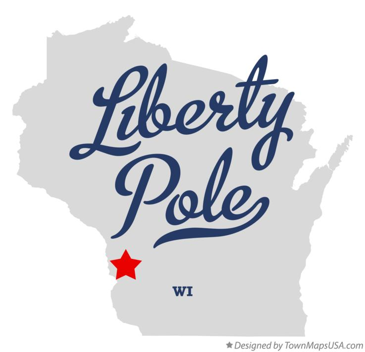 Map of Liberty Pole Wisconsin WI
