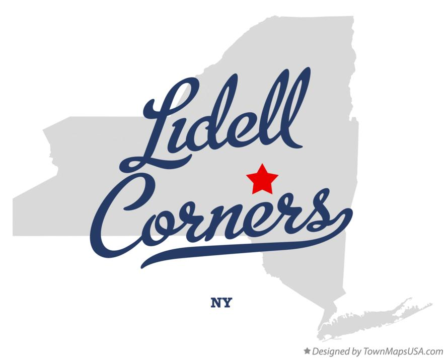 Map of Lidell Corners New York NY