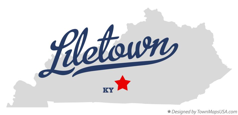 Map of Liletown Kentucky KY
